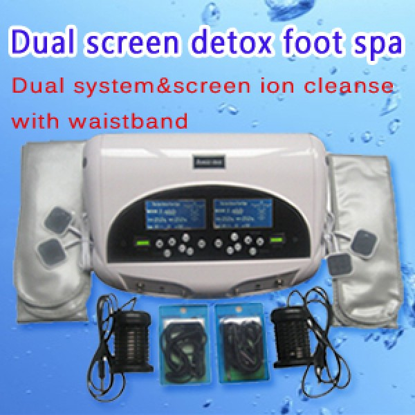 Dual Screen Detox foot spa