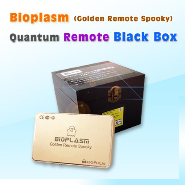 Bioplasm (remote spooky)+ Quantum Remote Black Box